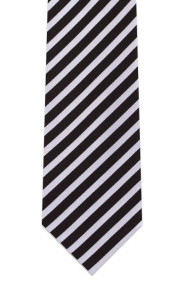 black-silver-striped-tie