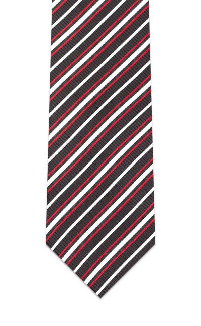 champion-red-black-white-striped-tie