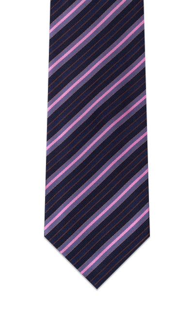 navy-blue-salmon-striped-tie