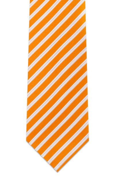 race-orange-striped-tie
